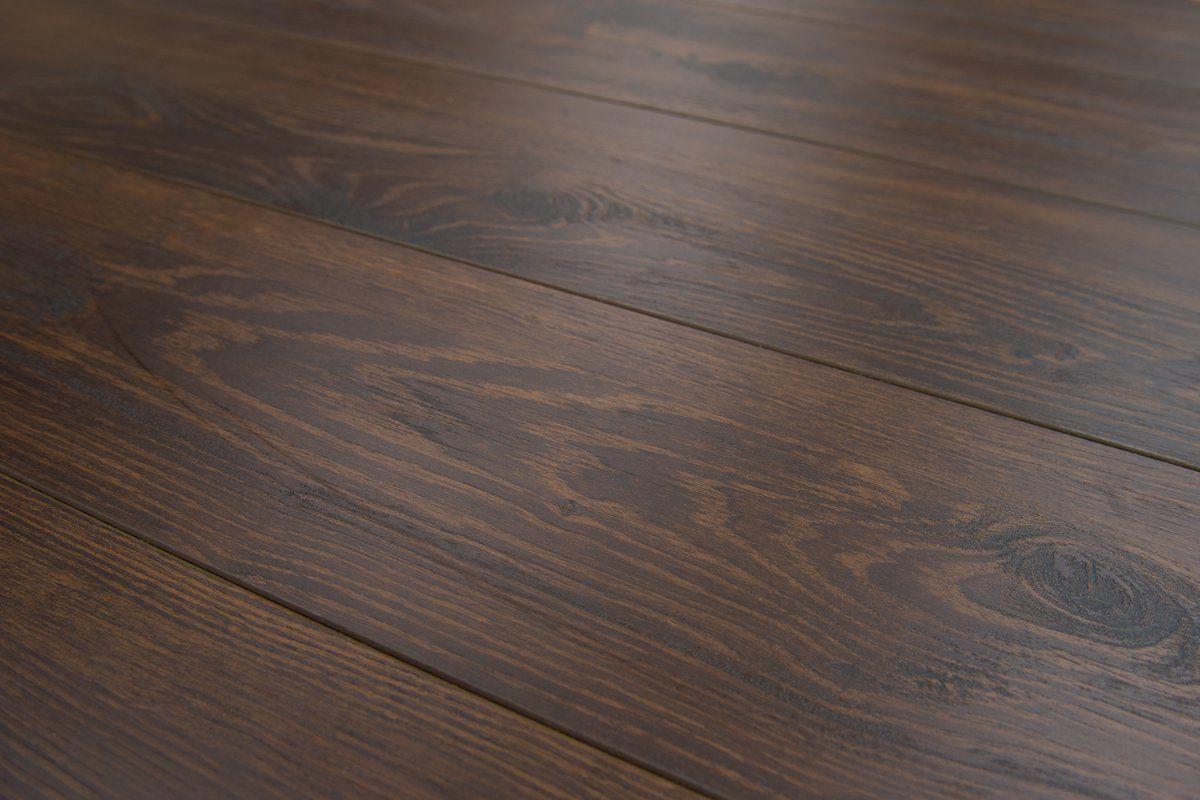 Lucerne 7 X 48 12mm Oak Laminate Flooring In Mocha