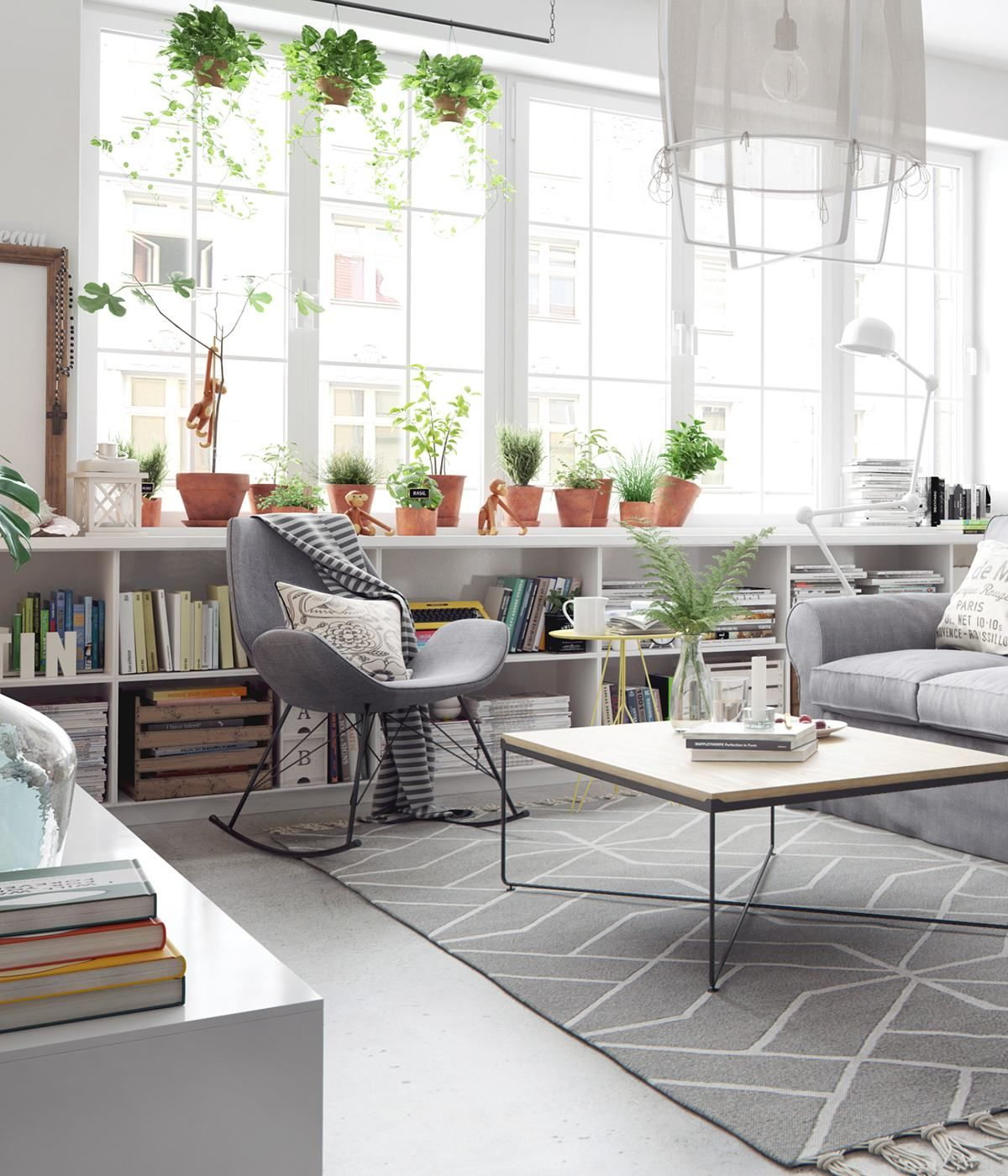 The Beauty Of Nordic Apartment Interior Design Style | Flat ...