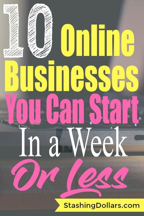 Online Business Ideas You Can Start Today is part of Work from home jobs, Online business, Online jobs, Working from home, Money online, Marketing mentor - Tired of the 9  5 routine  These creative online business ideas can have you making money in less than a week and working flexible hours