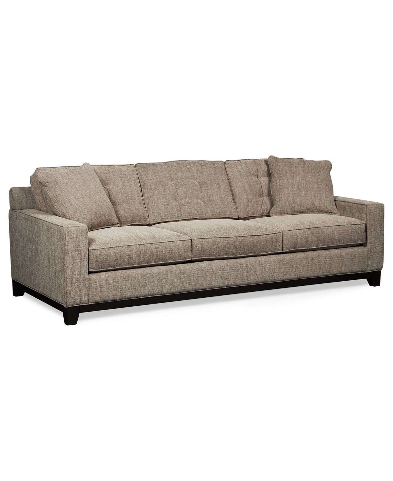 "3 A Rudin 2859 Sofa Custom length of 110"" Approximately $8000"