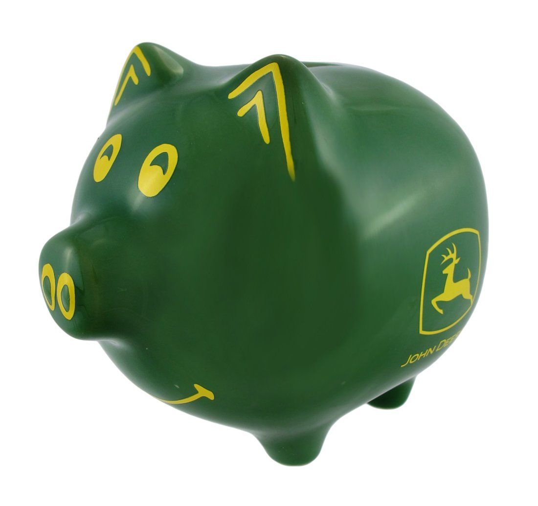 John Deere Kitchen Ideas: John Deere Piggy Bank
