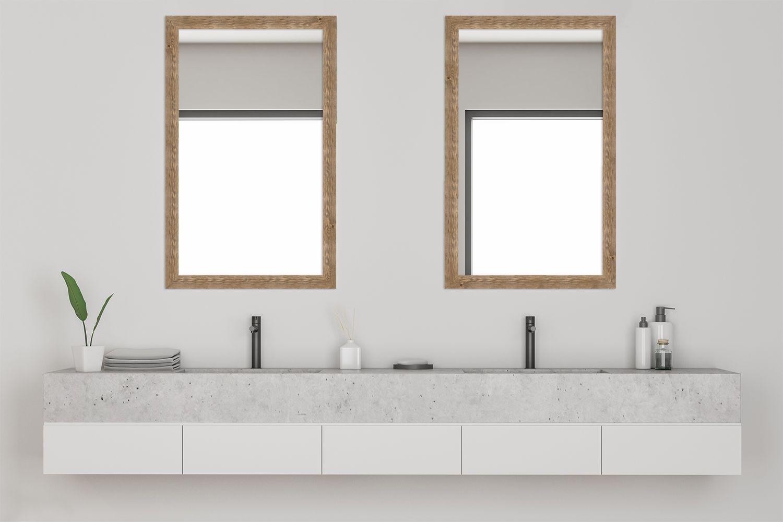 Wandspiegel H780 Strandhaus Aus Massivholz Wandspiegel Spiegel