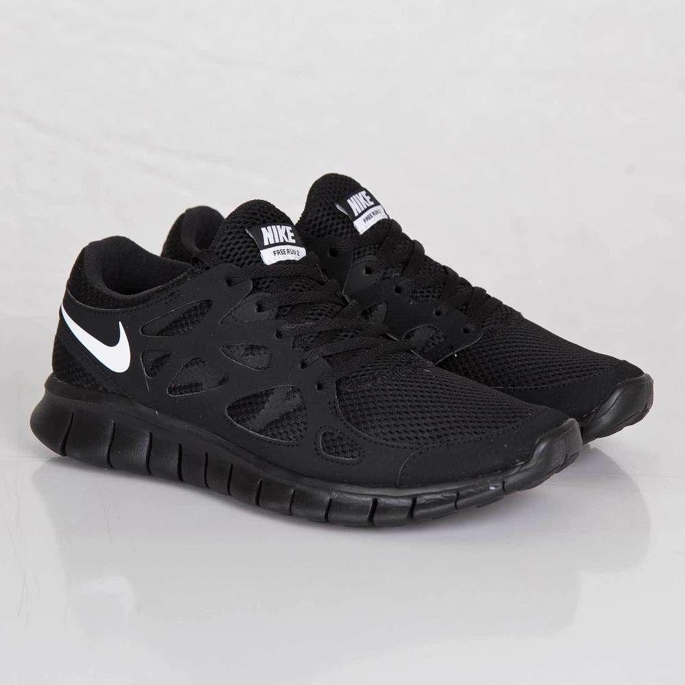 e94b9363b51e Nike Free Run 2 NSW Black Mens Running Shoes 540244-013 9.5