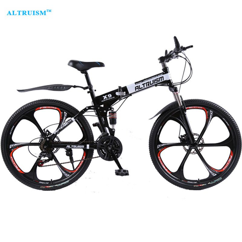 Altruism X9 26 Inch Bicycle Steel 24 Speed Double Shock Absorption