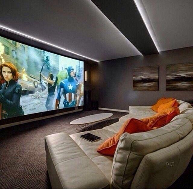 Salas De Cine En Casa: Pin By Nayshawn Danner On Home Decor In 2018