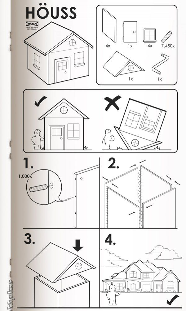 If Ikea Made Instructions For Everything By Susanna Wolff And