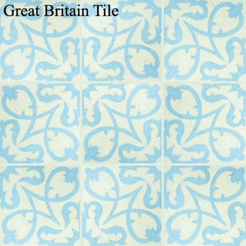 Encaustic Cement Tile - Manzanillo : Aguayo | Great Britain Tile - America's Floor Specialists - (877) 895-9775