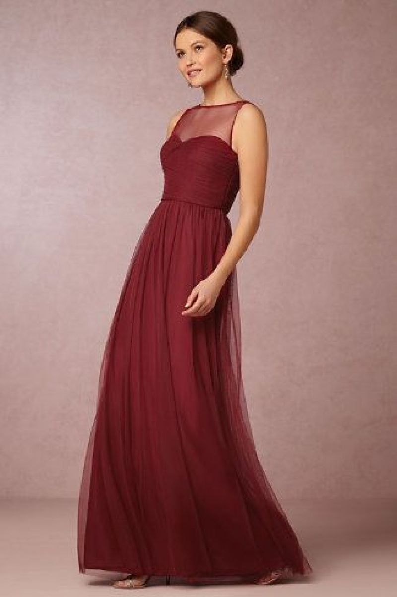 Lovely cranberry dresses for wedding wedding dresses pinterest