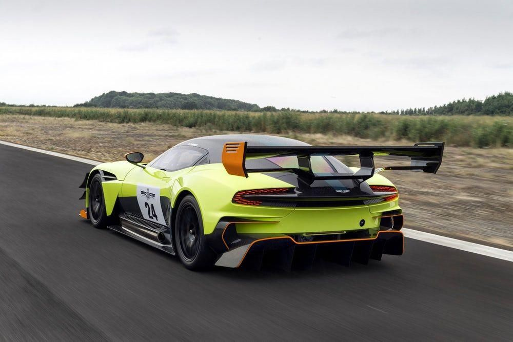 The Aston Martin Vulcan With Amr Pro Upgrade Fitted