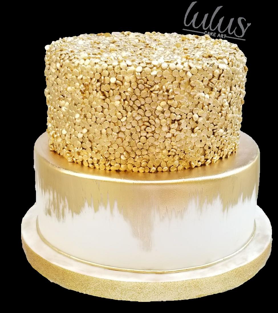 Awesome Elegant Gold Birthday Cake Gold Birthday Cake Golden Birthday Personalised Birthday Cards Epsylily Jamesorg