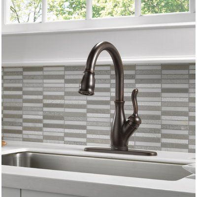 Delta Leland Pull Down Touch Single Handle Kitchen Faucet With Touch2o Technology Kitchen Handles Faucet Bar Faucets