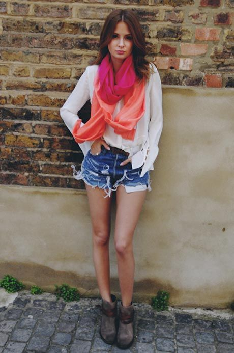 An inspiring summery look with our \