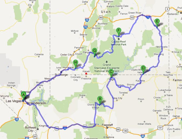 Rv Tour Southwest Usa