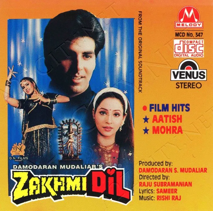 Zakhmi Dil 1994 Flac In 2020 Bollywood Songs Songs Artist Album
