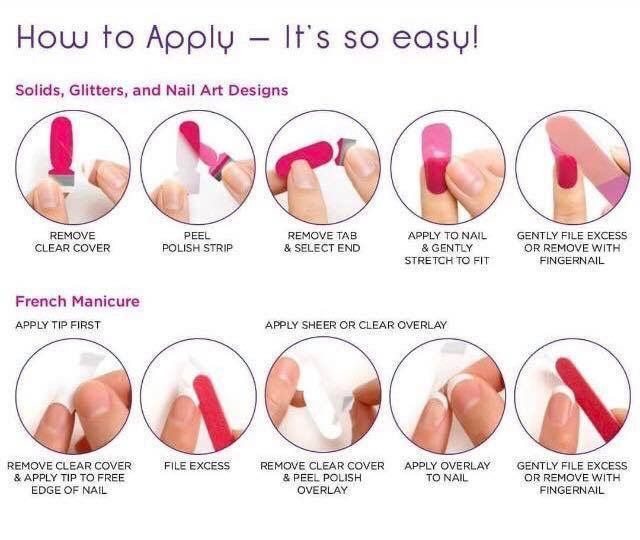 How To Apply Your Color Street 100% Nail Polish Strips