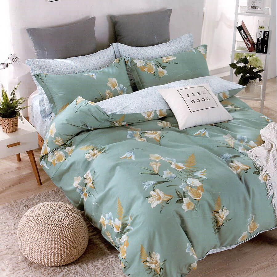 مفرش صيفي مفرد ونص 4 قطع ستيلا Bed Home Blanket