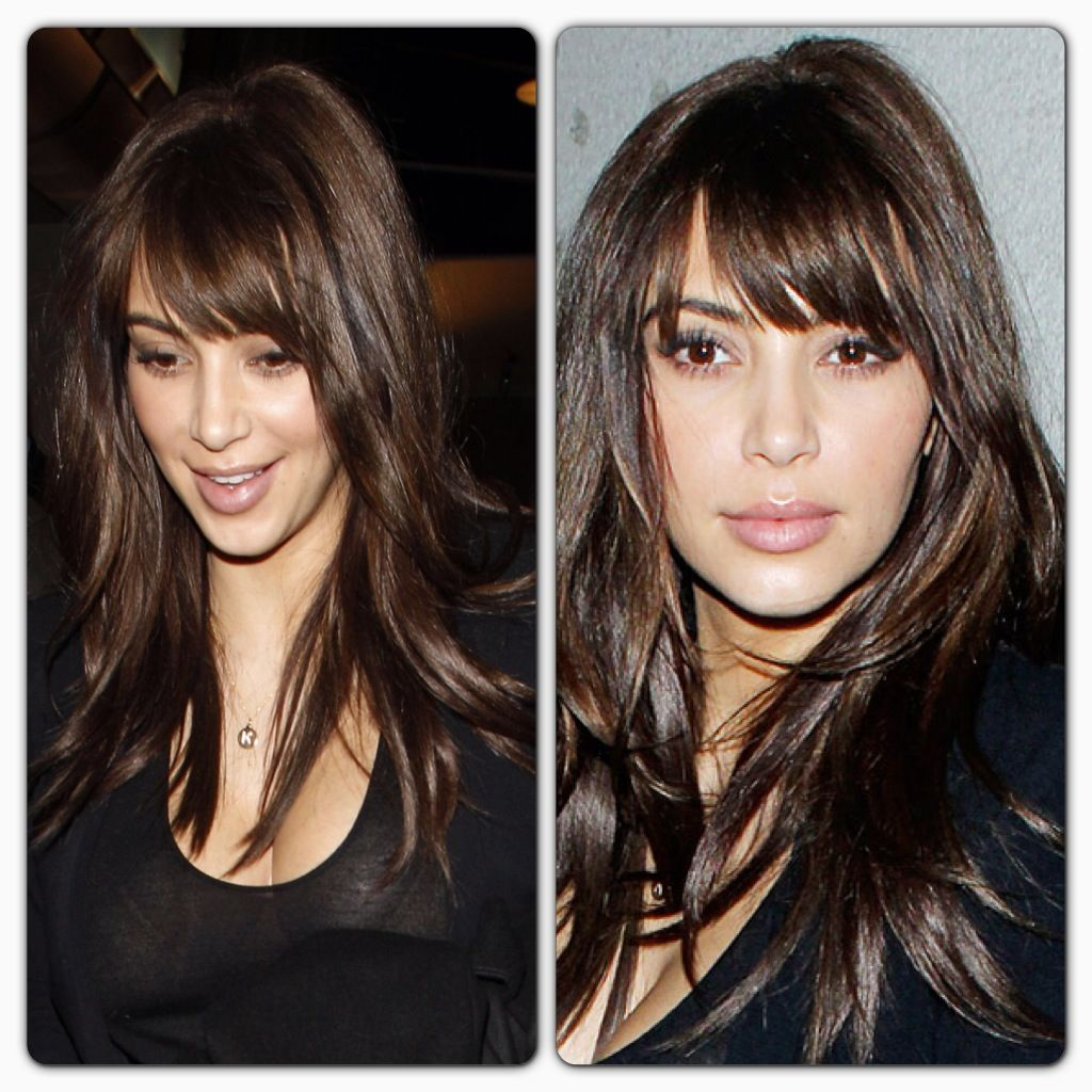 Hair Layers And Bangs Hair Hair Styles Hair Beauty