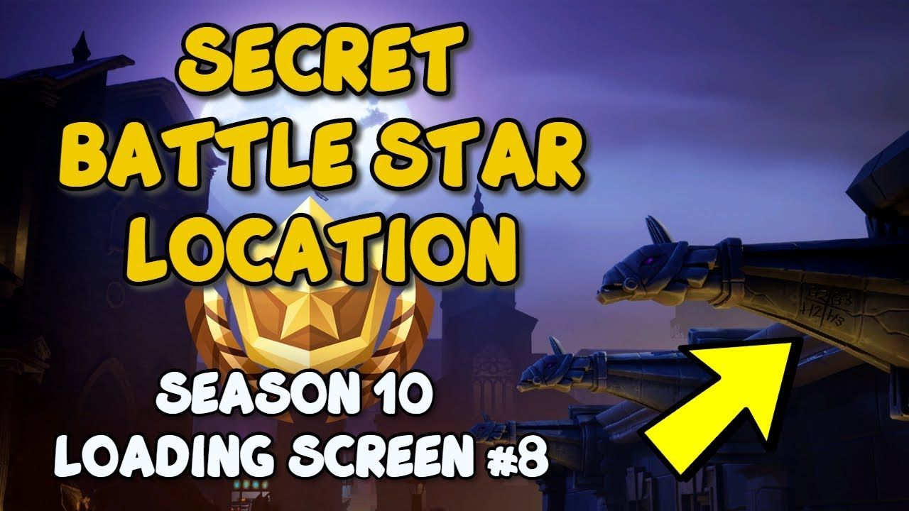 Fortnite Help Epic Games fortnite secret battle star location - season 10 loading
