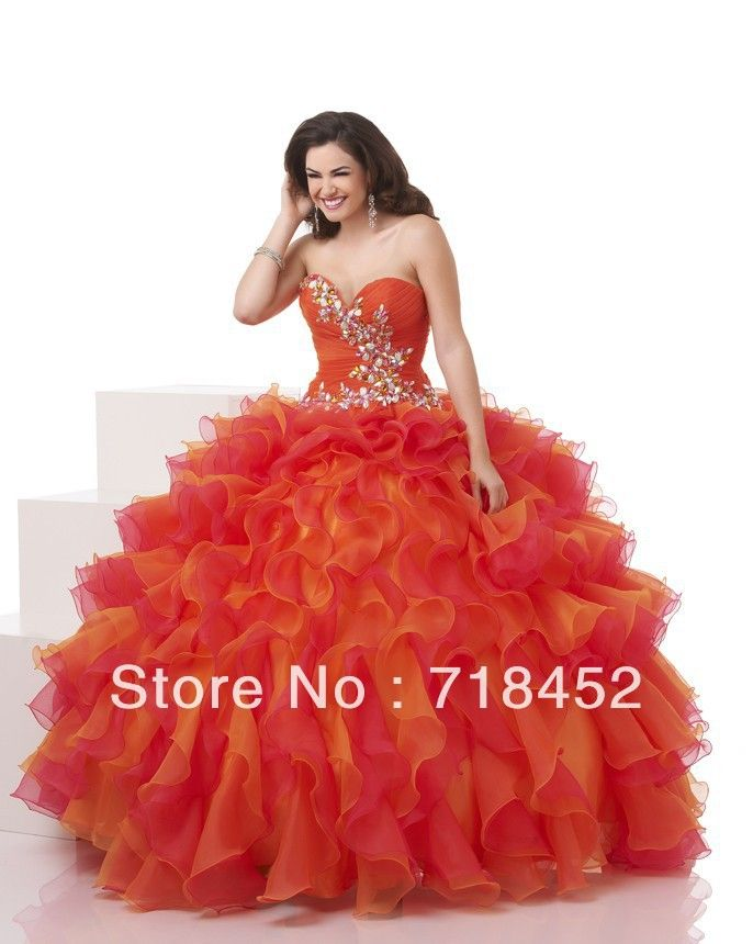 Rainbow Quince Dresses | bloom rainbow colored quinceanera dresses puffy sweetheart beaded ...