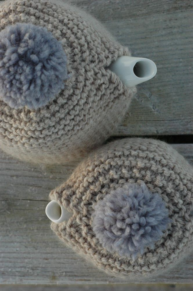 Small + Large Teapot Cozy Pattern Booklet | Lana, Teteras y Labores