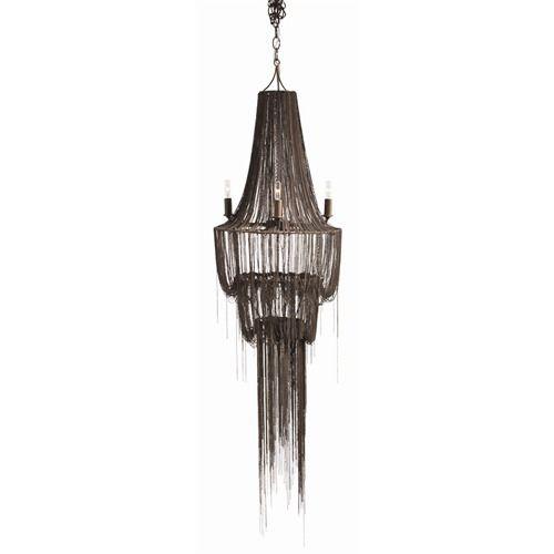 Yale Bathroom Lighting arteriors yale iron cascading chandelier | chandeliers, iron and