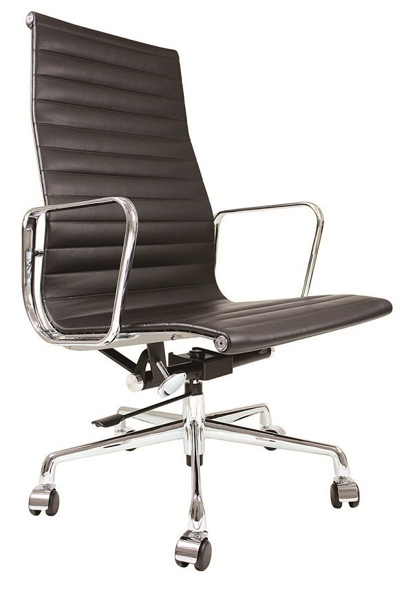 fauteuil bureau alu hb meubles design reproduction aluminium chair ea 119 charles - Reproduction Meuble Design