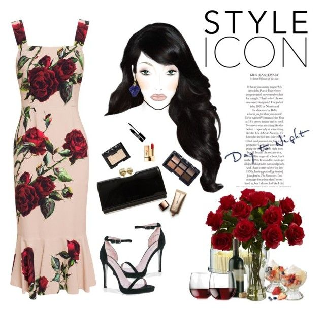 """""""FREEDOM"""" by fionamlyxy ❤ liked on Polyvore featuring Dolce&Gabbana, Boohoo, Jamie Wolf, LSA International, Libbey, Ted Baker, Lord & Berry, NARS Cosmetics, Yves Saint Laurent and Nude by Nature"""
