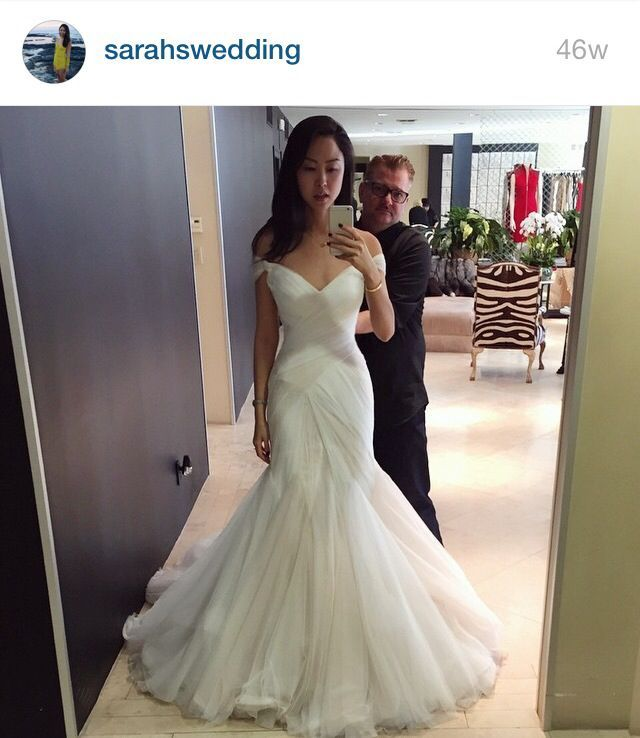 I actually really like this one, it\'s couture Mark Zunino. | Wedding ...