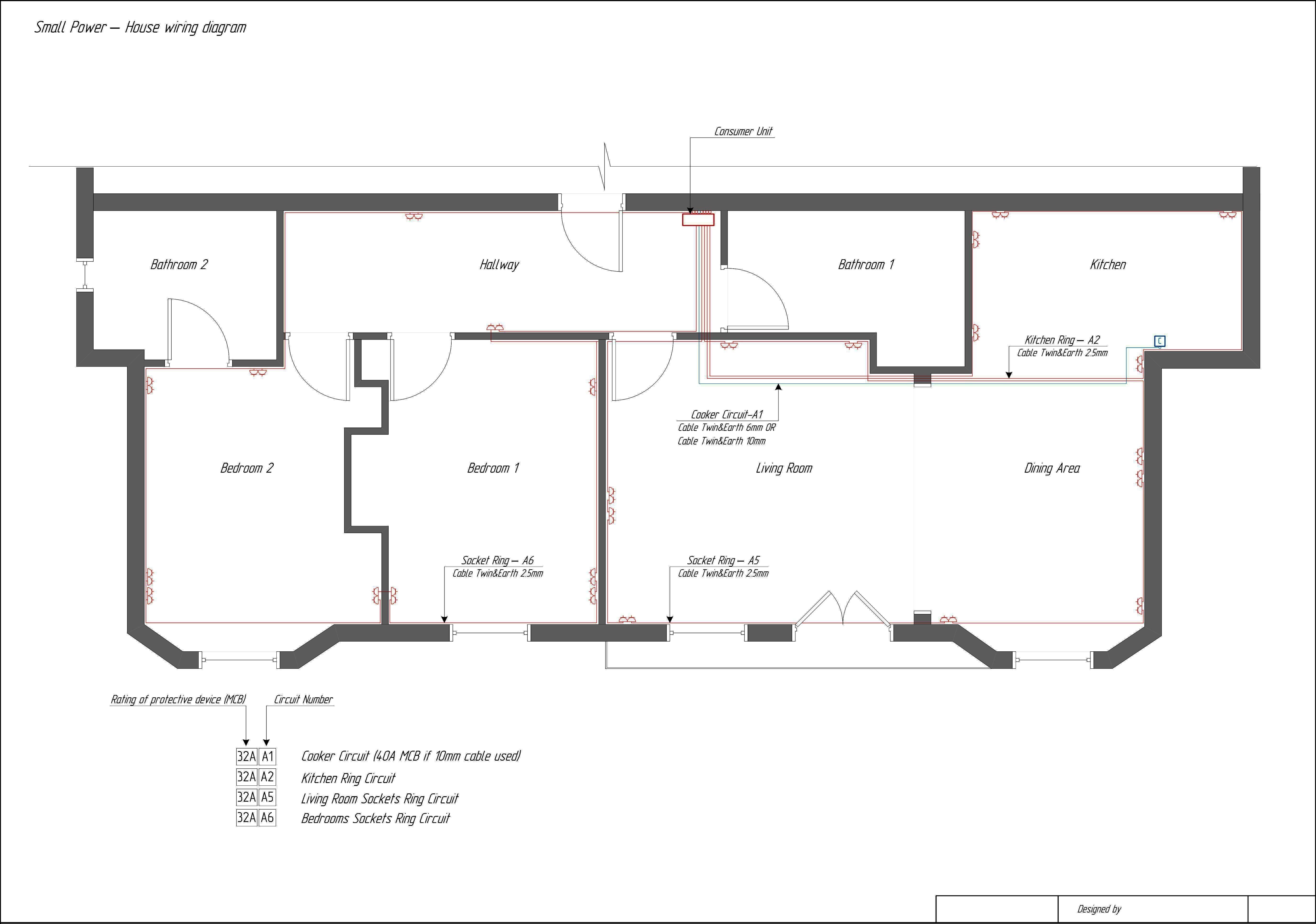 Home Theater Wiring Schematic