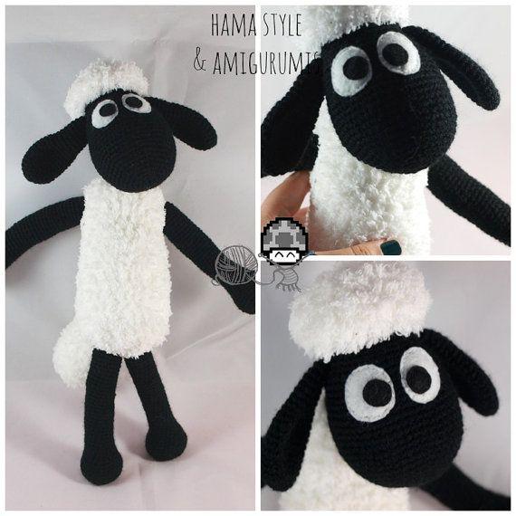 Oveja Amigurumi Crochet Tejida Algodón Bebés Deco Nene Nena ...   570x570