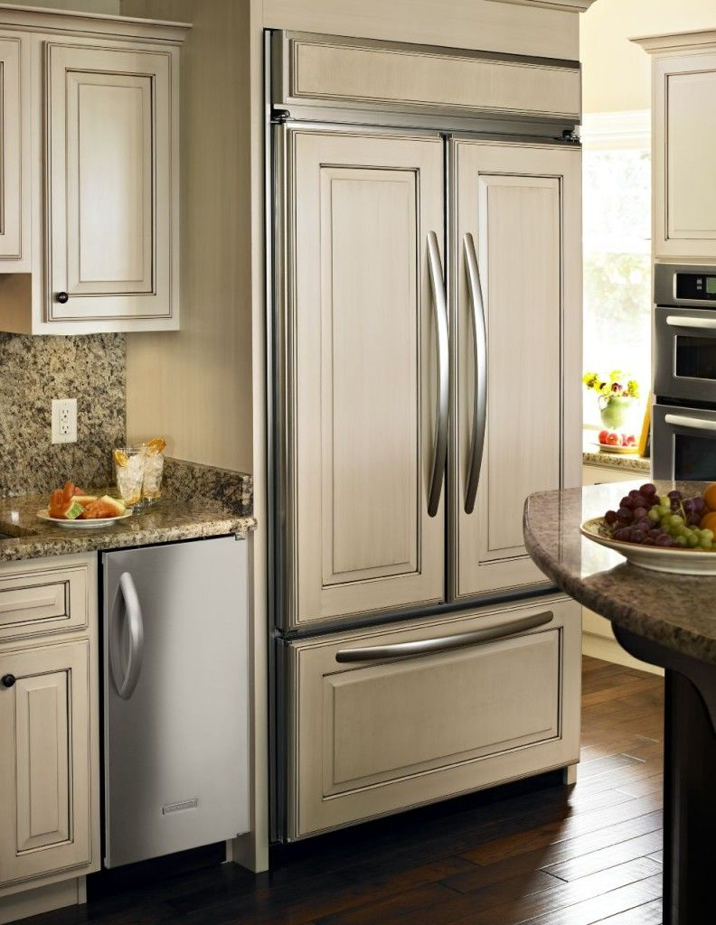 KitchenAid French door refrigerator for double the access