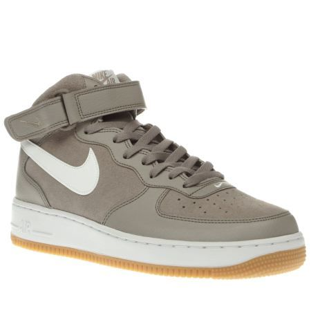 nike men's air force 1 mid 07 leather leather trainer