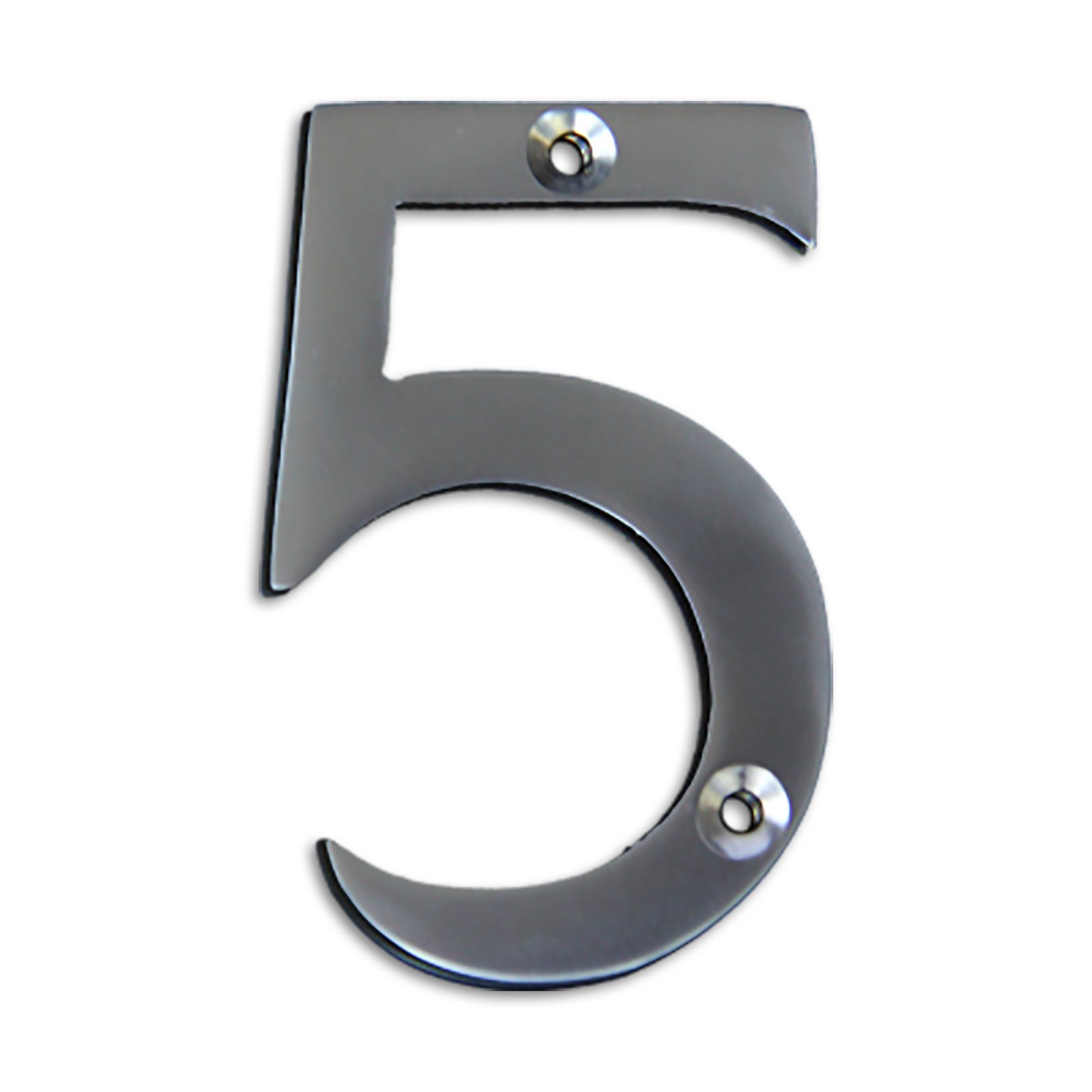 Modern 3 Inch Solid Brass House Numbers House Numbers 3 House Number Tile House Numbers