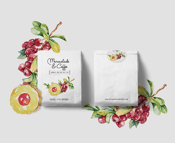 Marmalade & Coffee / Homemade Jams and Coffee Shop on Behance