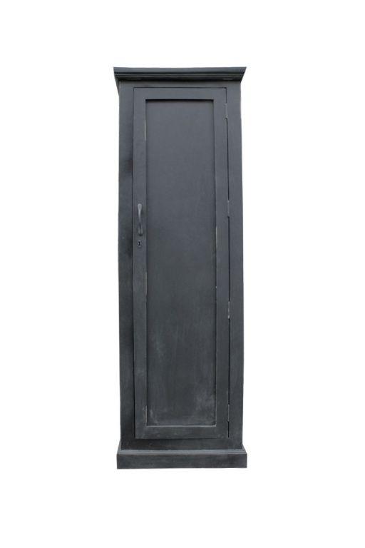 Oude Kast Smal - Zwart