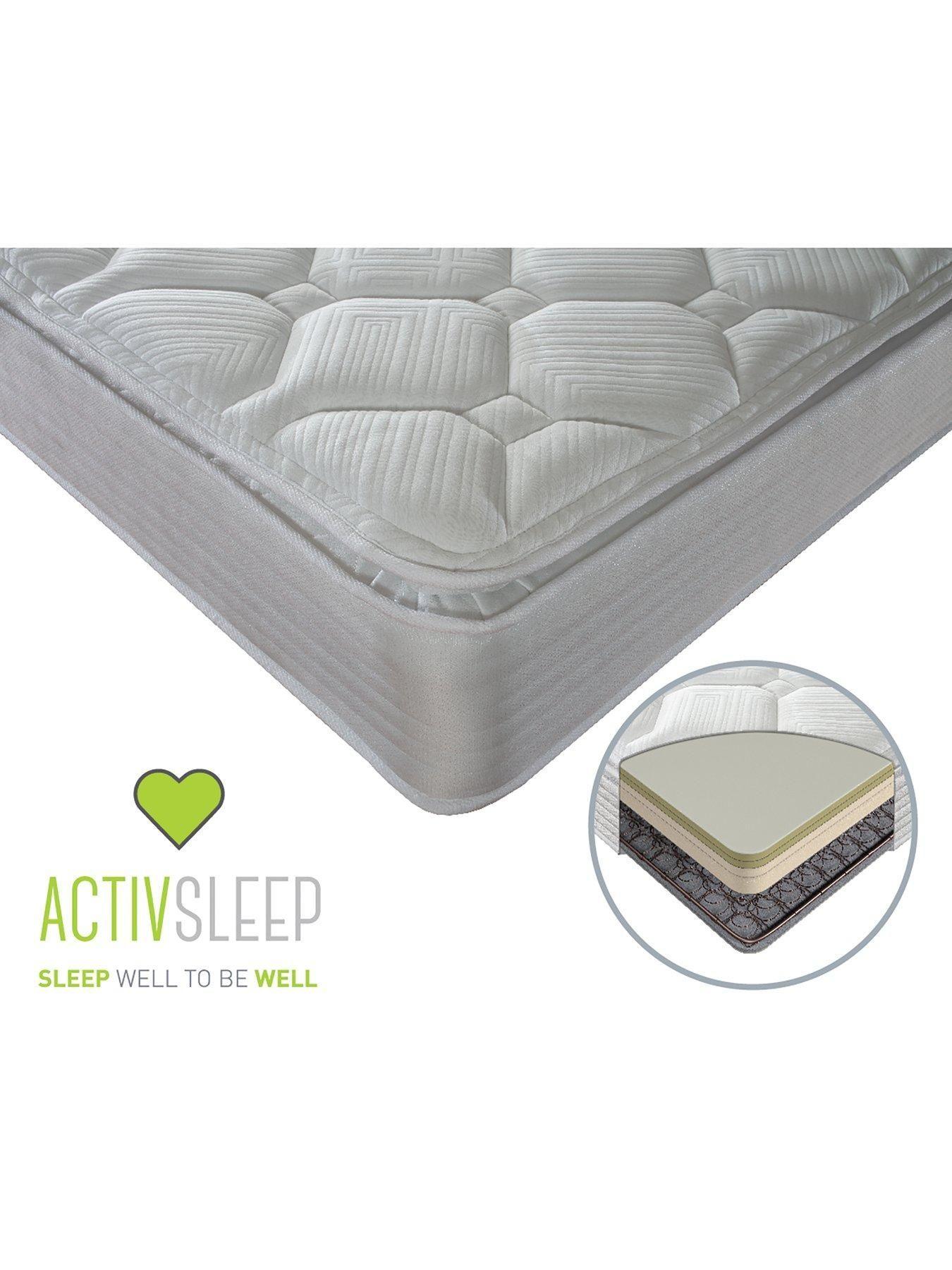 Sealy Activ Renew Ortho Posture Pillow Top Mattress - Medium/Firm - White - Single #pillowtopmattress Sealy Activ Renew Ortho Posture Pillow Top Mattress - Medium/Firm - White - Super King #pillowtopmattress