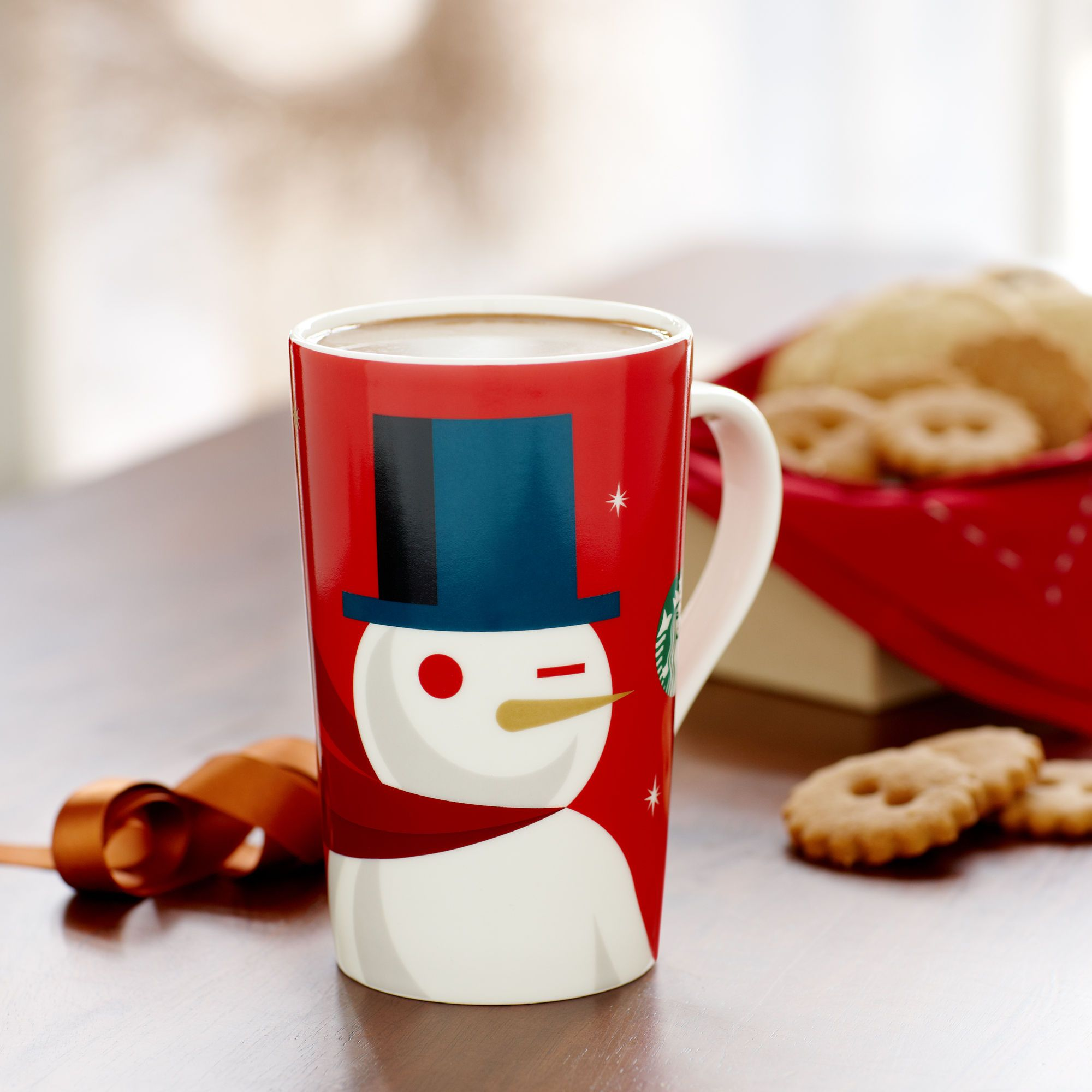 Starbucks® Holiday Red Cup Mug Snowman, 16 fl oz