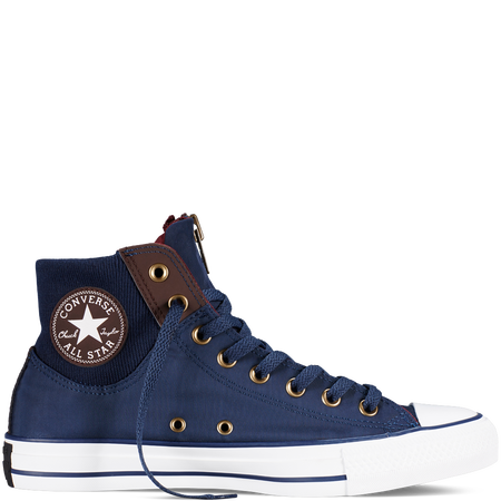 772adc92b1517d Converse - Chuck Taylor All Star MA-1 Zip - Nighttime Navy - Hi Top ...