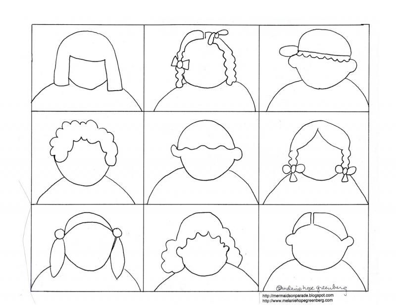 Free Printable Coloring Page For Kids To Help Them Draw And Express Emotions
