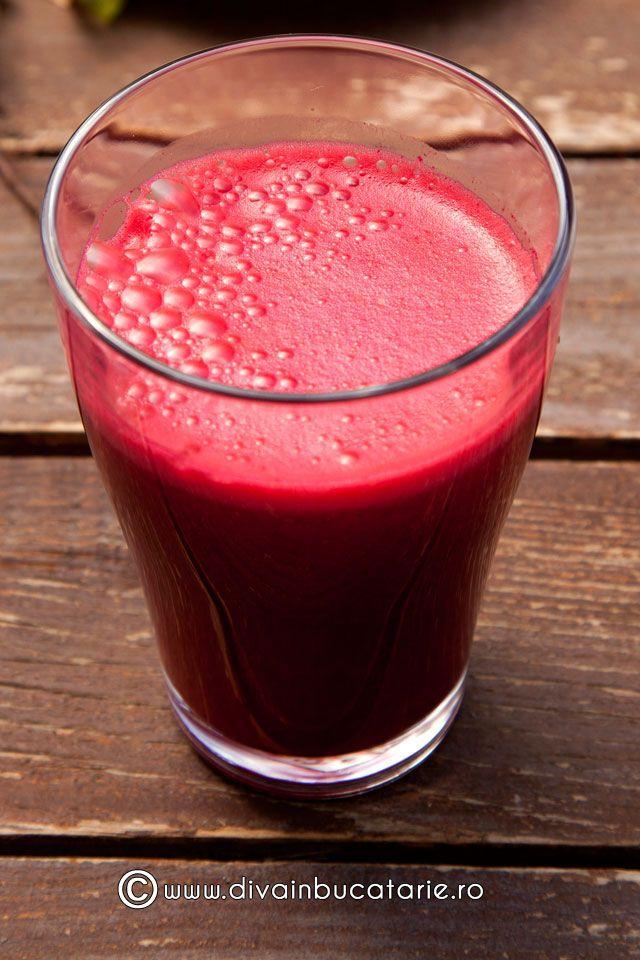 Cel mai bun energizant natural: Smoothie cu sfeclă roșie și morcovi