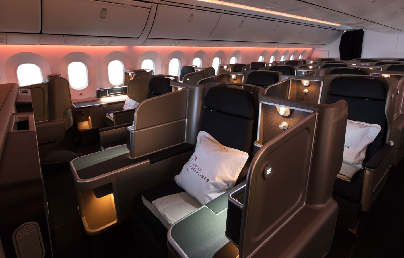 Qantas 171013 2060 Business Class Business Class Flight Business Class Seats