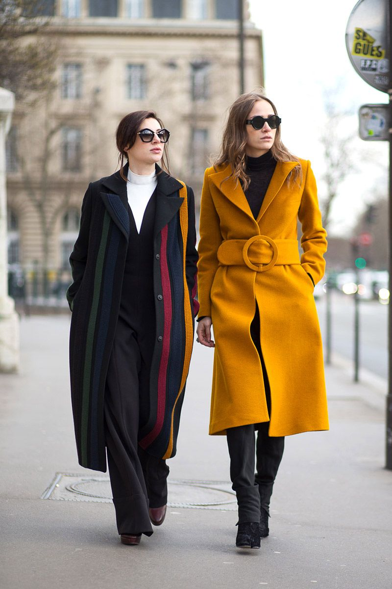 Turtleneck, Color, & Coats