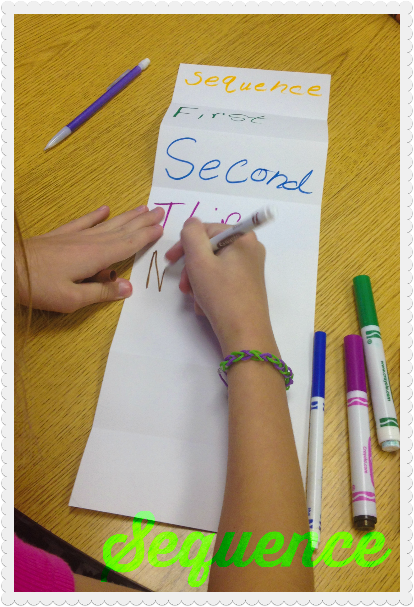 Sequence Foldable
