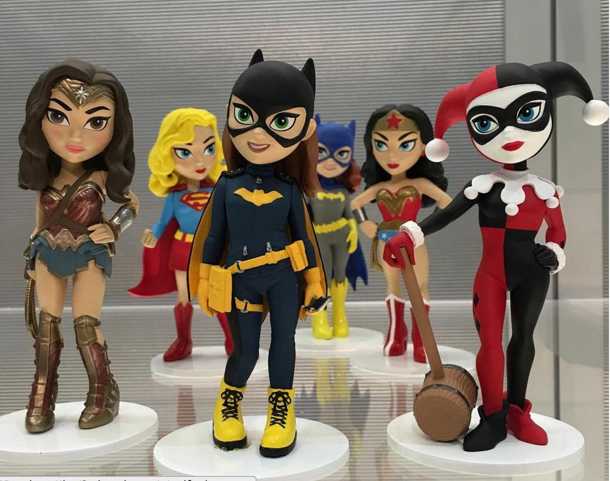 DC Bombshells Funko Batgirl Brand New In Box Rock Candy