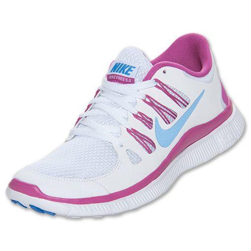 pretty nice b5209 b35fa Womens Nike Free 5.0+ Running Shoes Rosa, Tenis, Zapatillas Nike A Mitad  Del