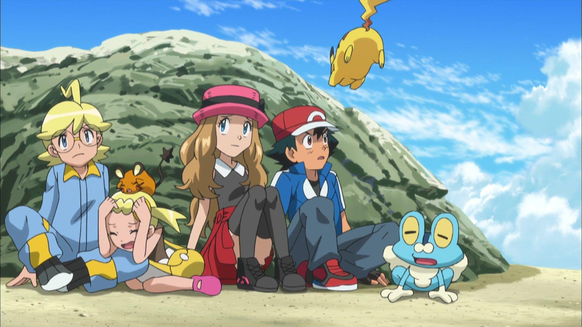 Anime Screencap And Image For Pokemon Xy Fancaps Net Pokemon