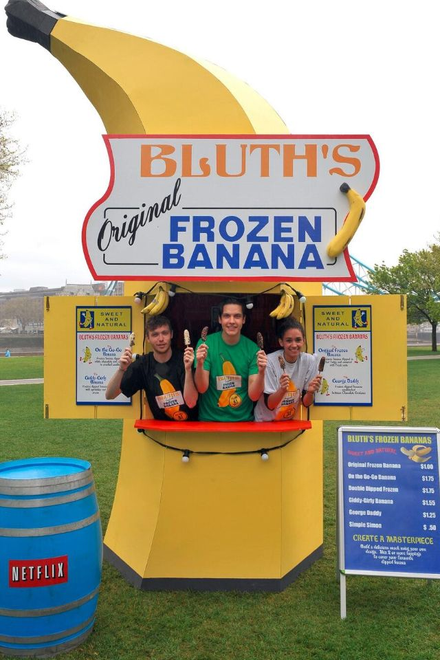 Arrested Development! There's always money in the banana stand.