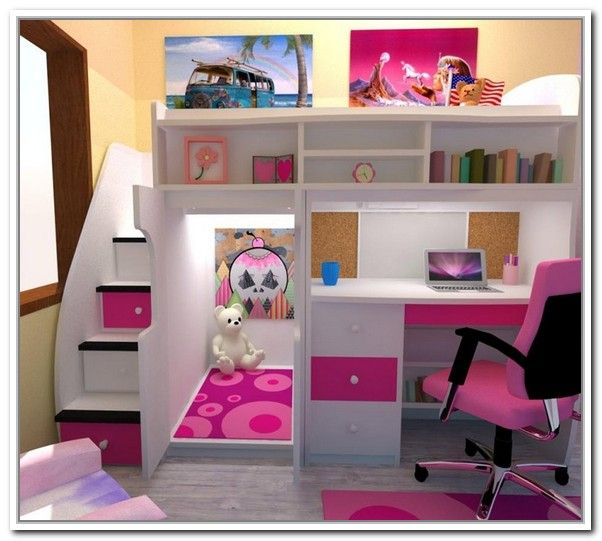 Painting Of The Advantages Of Twin Loft Bed With Desk And Storage Girls Loft Bed Bed For Girls Room Bunk Bed Designs