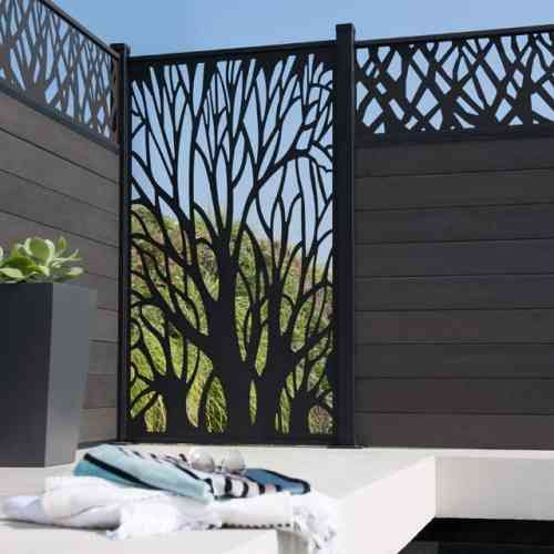 Clôture de jardin pas chère, originale et design | lazer kesim bahçe ...