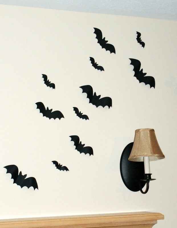 Halloween Decorations 3D Bats Flying Bats Halloween Decor Halloween